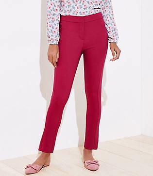 LOFT Petite High Waist Zip Pocket Skinny Ankle Pants