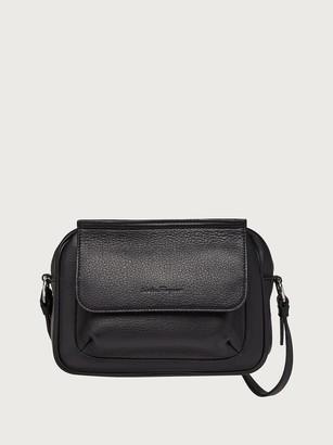 Salvatore Ferragamo Men Small messenger bag Black