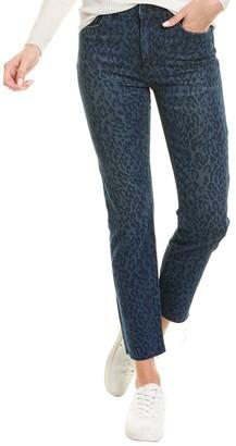 Joe's Jeans The Milla Indigo Laser Cheet Straight Leg Jean