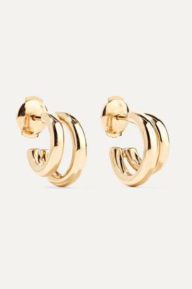 Pomellato 18-karat Rose Gold Hoop Earrings - one size