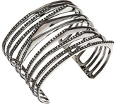 Alexis Bittar Crystal Encrusted Origami Peeks Cuff Bracelet Bracelet