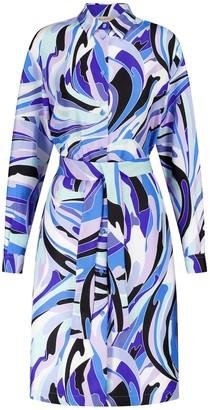 Emilio Pucci Exclusive to Mytheresa Printed silk shirt dress