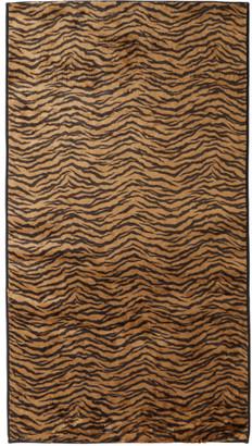 Wacko Maria Black and Brown Fur Rag Mat
