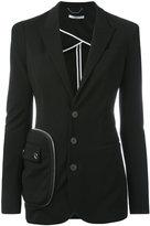 Givenchy pocket detail blazer - women - Polyamide/Spandex/Elastane/Viscose - 38