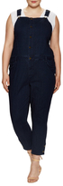 Rachel Roy Curvy Cropped Skinny Overall