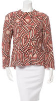 Marni Long Sleeve Printed Top