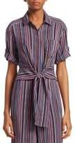 Nanette Lepore Sassy Striped Cotton Top