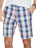Nautica Slim-Fit Plaid Front Shorts