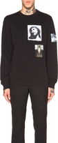 Givenchy Patch Graphic Pullover Sweatshirt