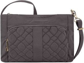 Travelon Anti-Theft Signature Quilted East/WestSlim Bag