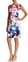 Jax Floral Sheath Dress