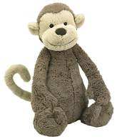 Jellycat Bashful Monkey Soft Toy, Large, Brown