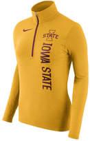 Nike Women's Iowa State Cyclones Stadium Element Quarter-Zip Pullover
