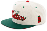 Mitchell & Ness Celtics Brushed Heather Holiday Snapback