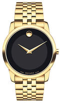 Movado Museum Goldtone PVD Watch