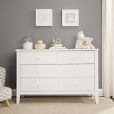 DaVinci Morgan 6 Drawer Dresser Carter's by Color: White