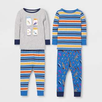 Cat & Jack Baby Boys' 4pc Bug Pajama Set - Cat & JackTM