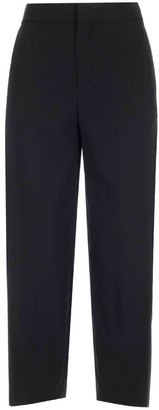 Chloé Cropped Wide Pants