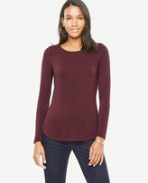 Ann Taylor Petite Jersey Layering Top