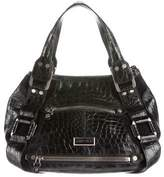 Jimmy Choo Crocodile Mahala Bag