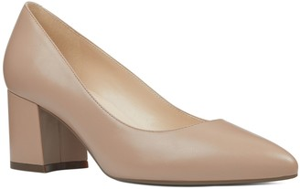Nine West Issa Women's Leather Block Heels