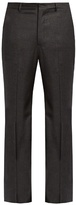 Bottega Veneta Slim-fit Wool-blend Flannel Trousers