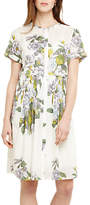 Phase Eight Samara Floral Dress, Ivory/Multi
