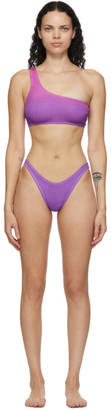 BOUND by Bond-Eye Purple and Pink The Samira Bikini
