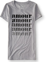 Aeropostale Amour Amour Graphic T