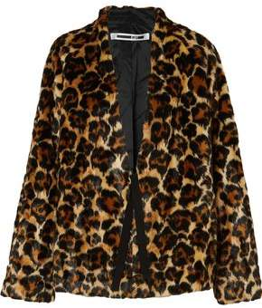 df562a3bb94 Leopard Print Faux Fur Coat - ShopStyle
