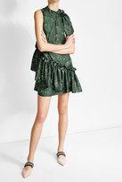 Marco De Vincenzo Asymmetric Silk Dress