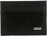 Dolce & Gabbana classic cardholder - men - Leather - One Size