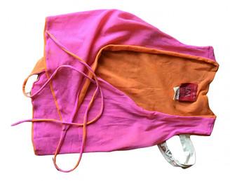 Lm Lulu Orange Top for Women Vintage