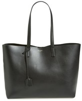 Saint Laurent 'Shopping' Leather Tote - Black