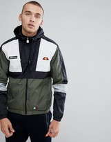 Ellesse Lightweight Hooded Track Jacket With Sleeve Print