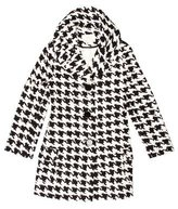 Kate Spade Houndstooth Short Coat
