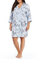 Lauren Ralph Lauren Plus Floral Classic Sleepshirt