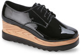 Wanted Black Beekman Platform Oxfords