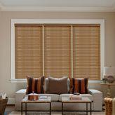 Kirsch 23-Inch W x 72-Inch L Oak Faux Wood Blind