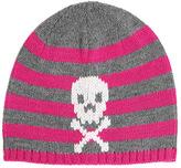 San Diego Hat Company Children's Knit Stripe Skull Beanie KNK3350