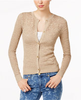 MICHAEL Michael Kors Metallic Lace Cardigan
