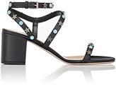 "Valentino Women's ""Starstudded"" Sandals-RED, PURPLE, BLACK"