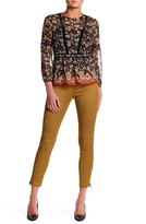 Veronica Beard Surf Wool Blend Skinny Pant