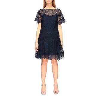 Alberta Ferretti Dress Short Macramé Dress