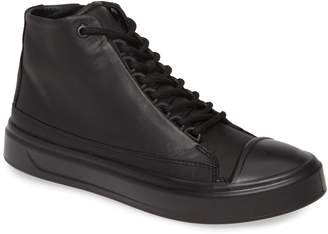 Ecco Flexure Cap Toe High Top Sneaker