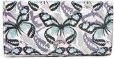 GUESS Flutter Butterfly Print File Clutch