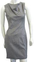 Seamed Dress In Grey
