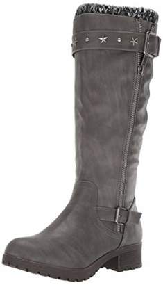 Sugar Women's Quickster Studded Sweater Lined Mid Calf Riding Boot