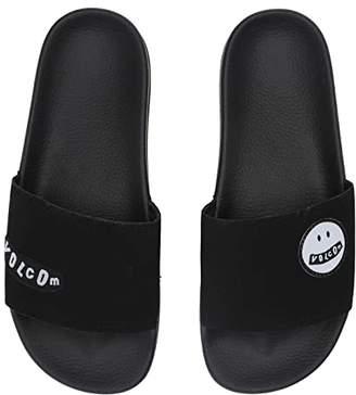 Volcom Don't Trip Slide (Black) Women's Slide Shoes