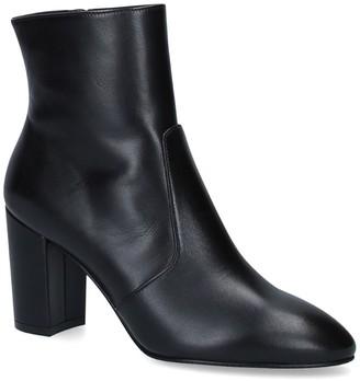 Stuart Weitzman Leather Tinslee Heeled Boots 80